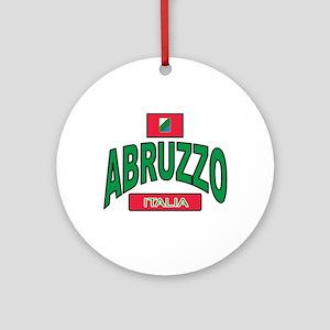 Abruzzo Italy Ornament (Round)