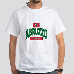 Abruzzo Italy White T-Shirt