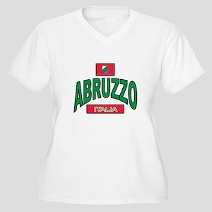 Abruzzo Italy Women's Plus Size V-Neck T-Shirt