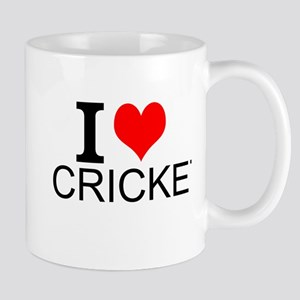 I Love Cricket Mugs