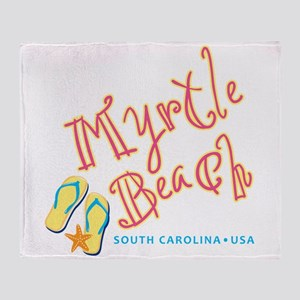 Myrtle Beach - Throw Blanket
