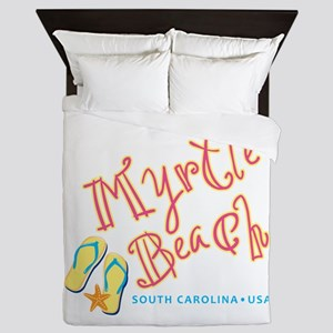 Myrtle Beach - Queen Duvet