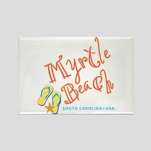 Myrtle Beach - Rectangle Magnet