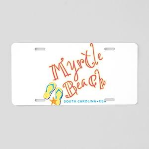 Myrtle Beach - Aluminum License Plate