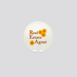 Real Estate Agent Mini Button