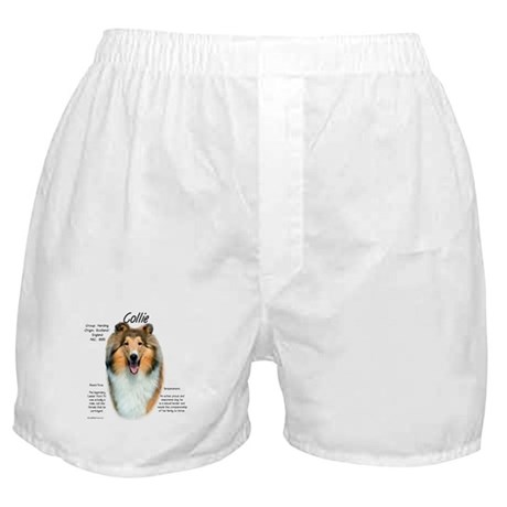 Collie (rough sable) Boxer Shorts