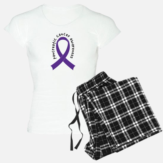 Pancreatic Cancer Ribbon Pajamas