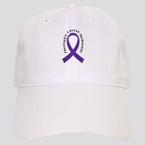 Pancreatic Cancer Ribbon Cap