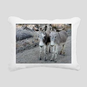 Parker Pals Rectangular Canvas Pillow