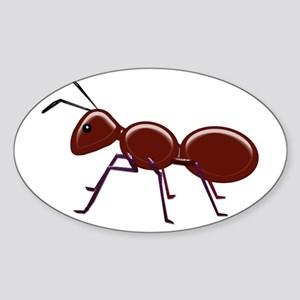Shiny Brown Ant Sticker