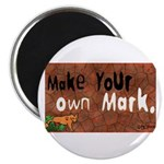 """Make your own Mark"" Magnet"