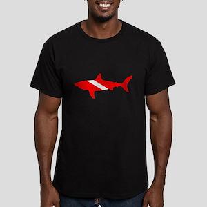Diver Down Great White Shark T-Shirt