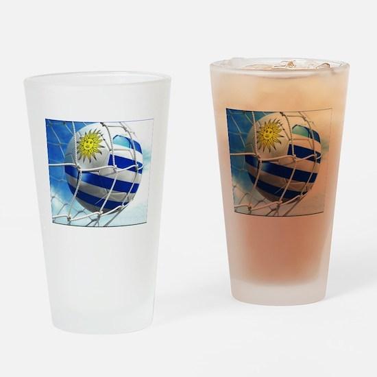 Uruguay Drinking Glass