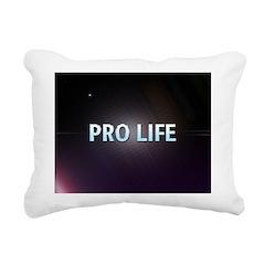 Pro Life Rectangular Canvas Pillow