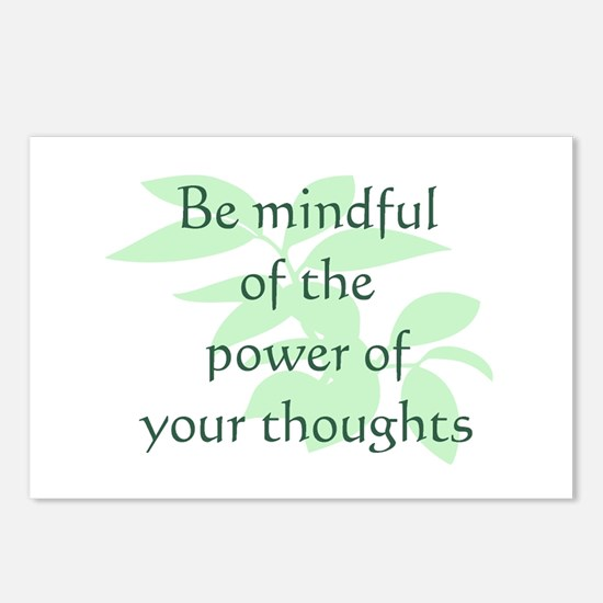 Be Mindful Postcards (Package of 8)