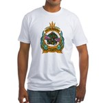 USS ABRAHAM LINCOLN Fitted T-Shirt