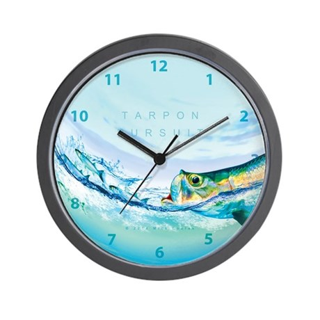 Tarpon Wall Clock