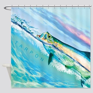 Tarpon Shower Curtain