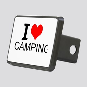 I Love Camping Hitch Cover