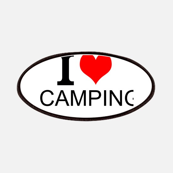 I Love Camping Patches