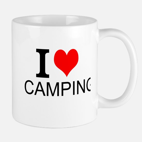 I Love Camping Mugs