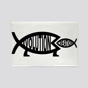 Eating Creation Rectangle Magnet