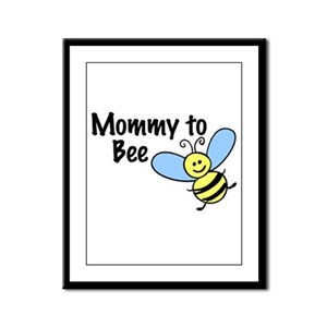 Mommy to Bee... Framed Panel Print
