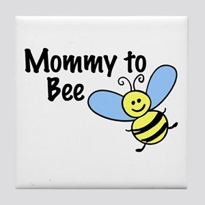 Mommy to Bee... Tile Coaster