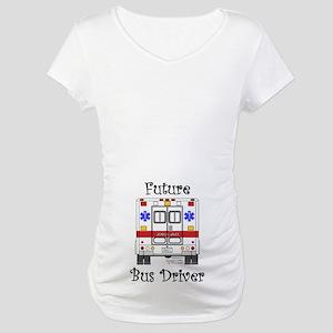 Future Bus Driver Maternity T-Shirt
