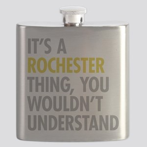 Its A Rochester Thing Flask