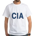 CIA: CIA White T-Shirt