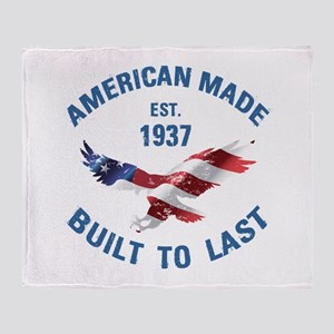 1937 American Made Throw Blanket