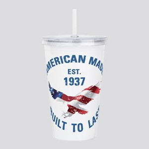 1937 American Made Acrylic Double-wall Tumbler