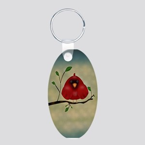 Red Bird Cardinal Keychains