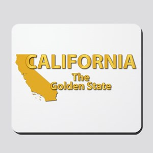 State - California - Gold State Mousepad