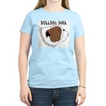 Bulldog Diva Women's Light T-Shirt