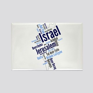 Israel Word Cloud Magnets