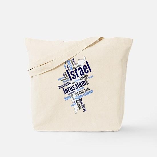 Cute Israel Tote Bag