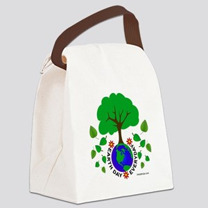 Earth Day Everyday Canvas Lunch Bag
