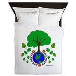 Earth Day Everyday Queen Duvet