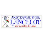 """The """"Lancelot"""" Bumper Sticker"""