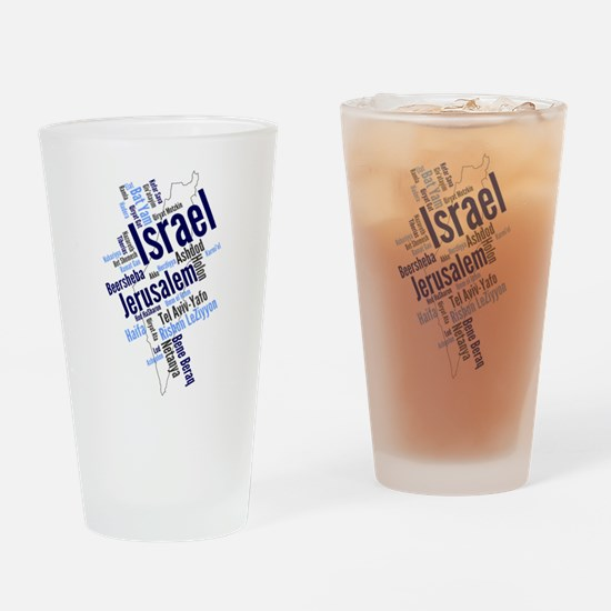 Funny Messianic Drinking Glass