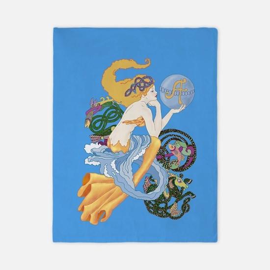 Celtic Afor Aquarius Mermaid Twin Duvet