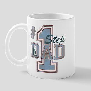 Number 1 Step Dad Mug