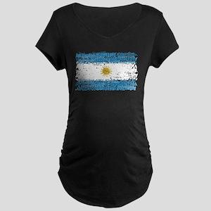 Textual Argentina Maternity Dark T-Shirt
