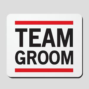 Team Groom Mousepad
