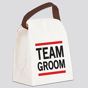 Team Groom Canvas Lunch Bag