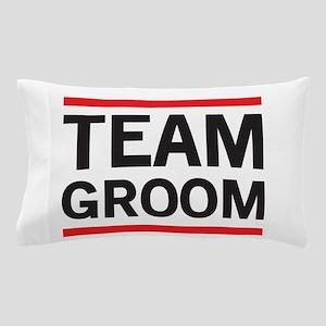 Team Groom Pillow Case
