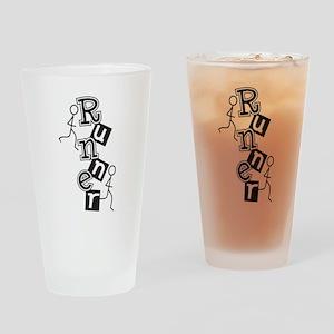Runner Drinking Glass