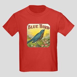 Blue Bird Kids Dark T-Shirt